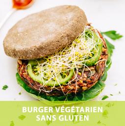 Neroliane Burger végétarien arôme basilic
